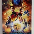 Ant-Man and the Wasp Quantumania cast signed autographed 8x12 photo Paul Rudd Evangeline Lilly