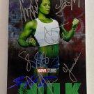 She-Hulk cast signed autographed 8x12 photo Tatiana Maslany Mark Ruffalo autographs