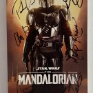 Star Wars The Mandalorian cast signed autographed 8x12 photo Pedro Pascal Gina Carano