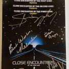 Close Encounters of the Third Kind cast signed autographed 8x12 photo Richard Dreyfuss autographs