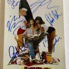 Fast Times at Ridgemont High cast signed autographed 8x12 photo Sean Penn Phoebe Cates autographs