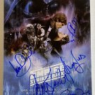Star Wars The Empire Strikes Back cast signed autographed 8x12 photo Harrison Ford autographs