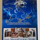 The NeverEnding Story cast signed autographed 8x12 photo Wolfgang Petersen Noah Hathaway