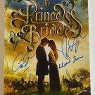 The Princess Bride cast signed autographed 8x12 photo Cary Elwes Robin Wright