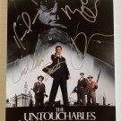 The Untouchables cast signed autographed 8x12 photo Kevin Costner Sean Connery Robert De Niro
