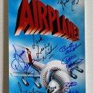 Airplane! cast signed autographed 8x12 photo Leslie Nielsen Robert Hays autographs Airplane