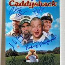 Caddyshack cast signed autographed 8x12 photo Chevy Chase Bill Murray autographs