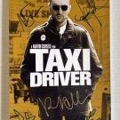 Taxi Driver cast signed autographed 8x12 photo Robert De Niro Jodie Foster autographs