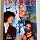 Mrs. Doubtfire cast signed autographed 8x12 photo Robin Williams Sally Field autographs