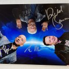 Jeff Bezos Elon Musk Richard Branson triple signed autographed photo TESLA VIRGIN AMAZON autographs