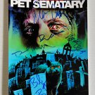 Pet Sematary 1989 cast signed autographed 8x12 photo Dale Midkiff Denise Crosby autographs