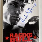 Raging Bull cast signed autographed 8x12 photo Robert De Niro Joe Pesci autographs