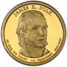 2009 P James K. Polk Presidential Dollar - Uncirculated US Mint