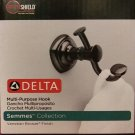 New Delta Multi-Purpose (Robe) Hook, Semmes Collection Venetian Bronze SLO35-VBR