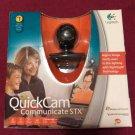 Logitech QuickCam Communicate STX Web Cam w/Built-In Microphone - Free Shipping!