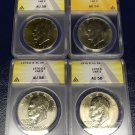 Certified ANACS Graded Collectible Eisenhower Dollars, One Price - Your Choice!