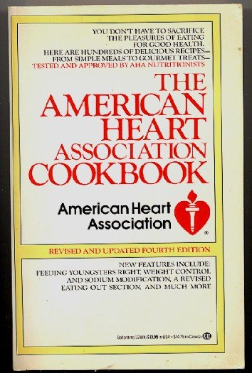 American Heart Association Cookbook 4th ed. 1986 sc