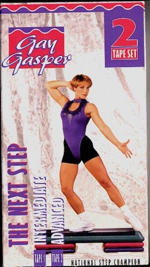 Gay Gasper The Next Step 2 Tape Set Intermediate & Advanced VHS