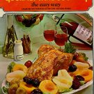 Gourmet Wine Cooking The Easy Way, Wine Advisory Board, 1968, spiral hc