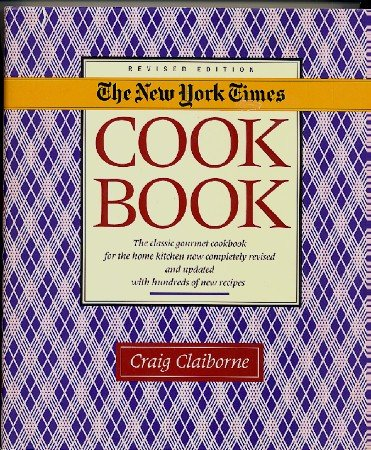 New York Times Cookbook, Rev Ed 1990 Claiborne hc+dj