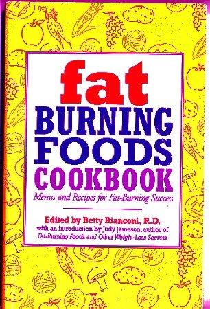 Fat Burning Foods Cookbook Bianconi 1995 150+ recipes + 7-day menu plan