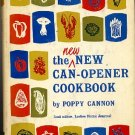 New New Can Opener Cookbook by Poppy Cannon Vintage 1960s