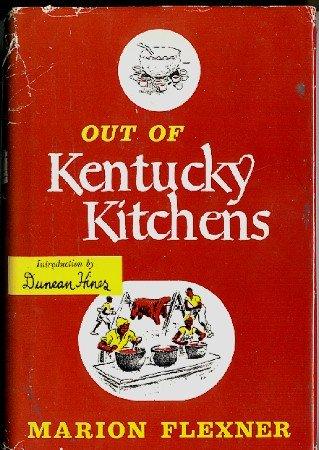 Out Of Kentucky Kitchens Cookbook Vintage 1949 Southern Recipes hc+dj