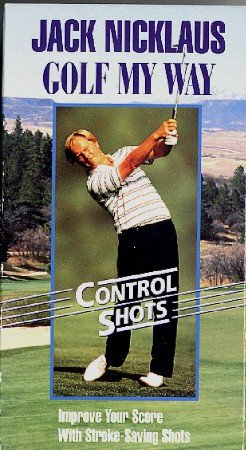 Jack Nicklaus GOLF My Way VHS Control Shots Instructional Movie