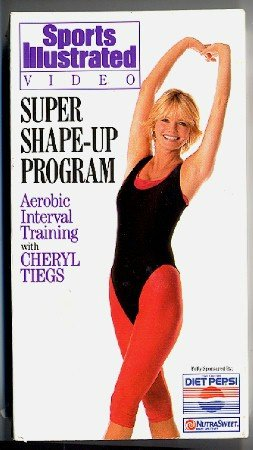 Sports Illustrated Super Shape Up Program Cheryl Tiegs Aerobic Interval Training Workout Video VHS