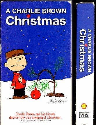 A Charlie Brown Christmas VHS Video Shultz Cartoon 1965 Shell Oil Promotion 1990