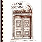 Grand Openings Grand Rapids Art Museum Vintage Fundraising Appetizer Party Cookbook