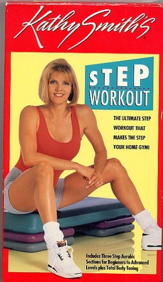 Kathy Smith Step Workout Aerobic and Toning Exercise Video VHS