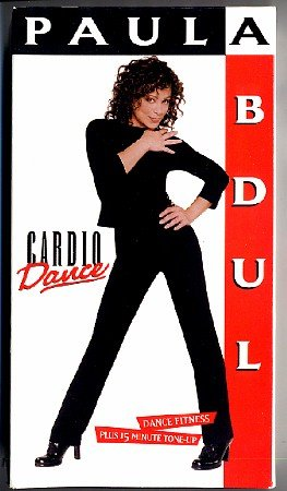 Paula Abdul Cardio Dance Aerobic Exercise Video VHS