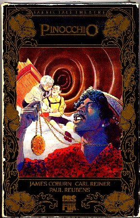 Pinocchio Faerie Tale Theater Paul Reubens Carl Reiner Jim Belushi VHS Childrens Video