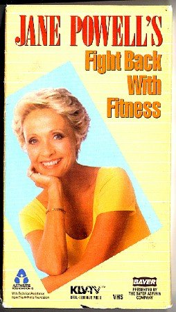 Jane Powell 's Fight Back with Fitness Arthritis Beginners Exercise Video VHS