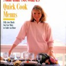 Martha Stewart 's Quick Cook Menus Cookbook First Edition First Printing like New
