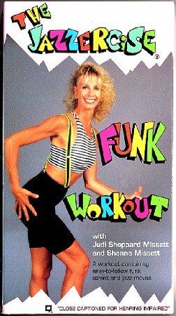 Jazzercise Funk Workout Judi Sheppard Missett VHS Video Exercise Tape