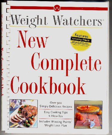 Weight Watchers New Complete Cookbook 1998 w/ Winning Points System
