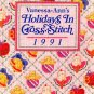 Holidays in Cross Stitch Vanessa Ann 1991 Cross-Stitch Pattern Book OOP