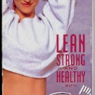 Susan Powter Lean Strong and Healthy Exercise Video Workout Tape VHS