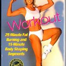 Denise Austin Step N Shape Workout Sculpt Exercise Video VHS Tape