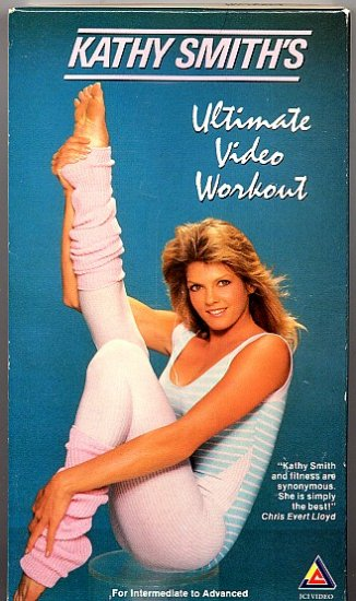 Kathy Smith Ultimate Video Workout Exercise Video VHS Tape Excellent Condition