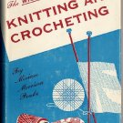 Wise Handbook of Knitting and Crocheting Miriam Peake vintage 1953 craft book hc+dj