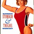 Kathy Smith Ultimate Stomach and Thighs Workout VHS Abs Buns Exercise Video Tape