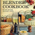 Blender Cookbook Seranne and Gaden Vintage 1960s hc+dj excellent condition