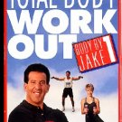 Body By Jake 1 Total Body Workout Back to Basics VHS Exercise Video Tape