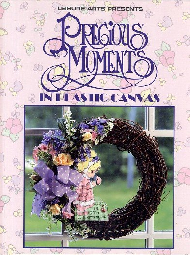 Precious Moments in Plastic Canvas hardcover Needlepoint Design Projects Book Oxmoor House