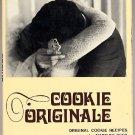 Cookie Originale 1970 First Edition Cooky Cookbook Marilou Dyer hc+dj
