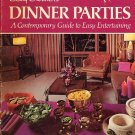 Betty Crocker 's Dinner Parties Vintage 1970 1st ptg Cookbook