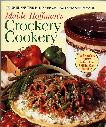 Mable Hoffman Crockery Cookery Revised Edition 1995 Softcover Crockpot Cookbook